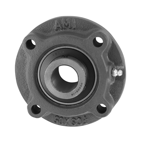 AMI NEW! 1-7//16 WIDE SET SCREW NICKEL PILOTED FLANGE CART UCFCS207-23NP